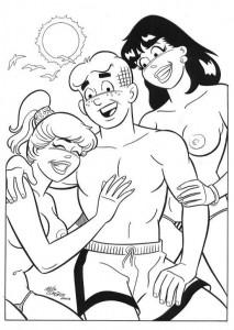 Betty boobs cartoon