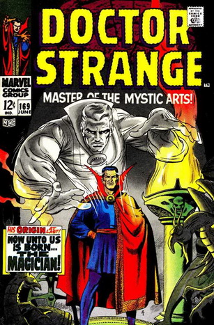 Vintage Marvel Comics Dr. Strange comic book cover