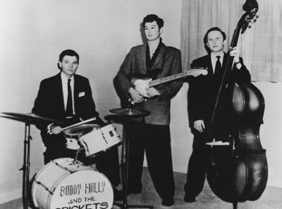 Sonny Curtis and the Crickets 1950s