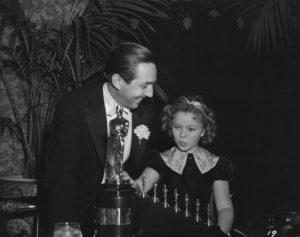 Walt Disney presents Shirley Temple's Honorary Oscar