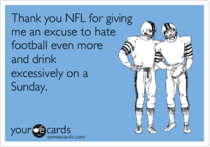 Reasons to hate the superbowl