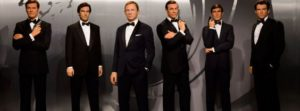 The Six Actors playing James Bond