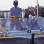JohnHix, Mike Miller, and Craig Ward exploring the back yard by boat.