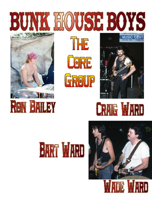 The Core Members of The Bunk House Boys