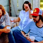 Ron and Gail Bailey with Craig relaxing in the country.