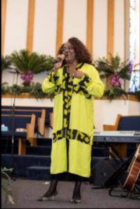 Gospel singer Erma Varnado