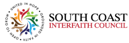 SCIC I South Coast Interfaith Council Logo